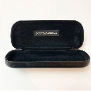 Dolce & Gabbana Sunglass Eyeglass Case Brown